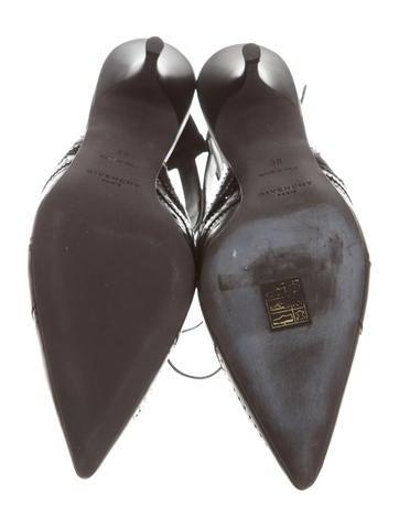 Leather Slingback Pumps w/ Tags