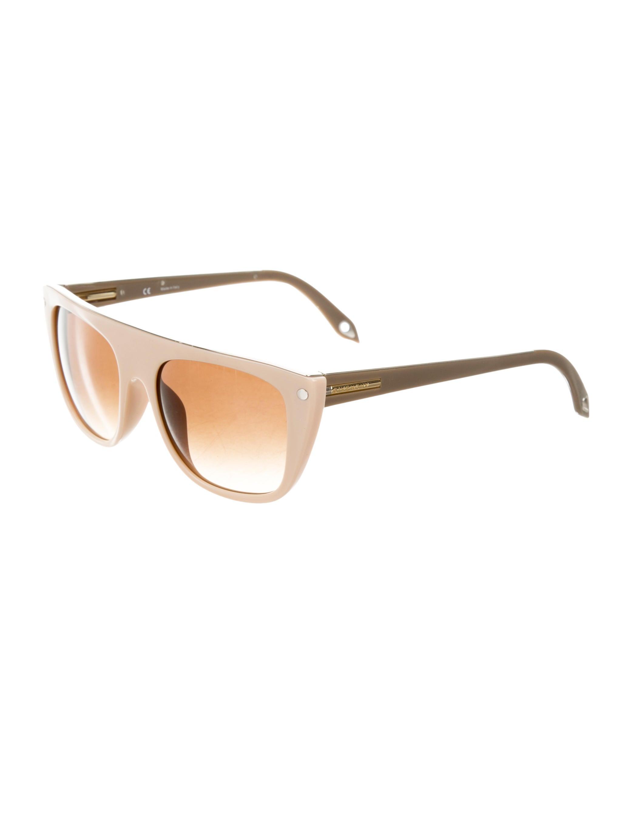 23ec097c46d Givenchy Logo-Embellished Oversize Sunglasses - Accessories - GIV32913