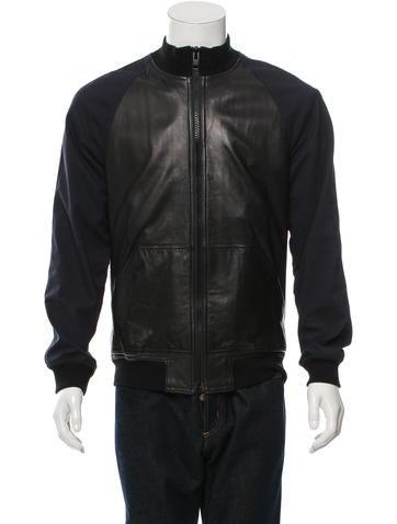 Givenchy Leather Varsity Jacket None