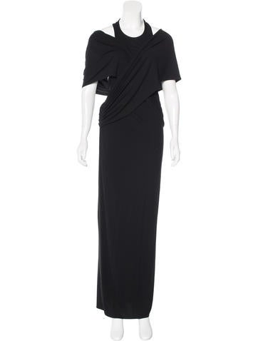 Givenchy Sleeveless Maxi Dress None