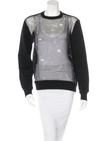 Givenchy Silk Panther Sweatshirt None