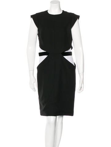 Givenchy Cut Out Shift Dress w/ Tags