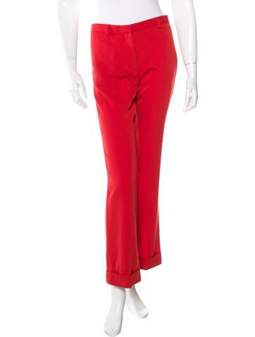 Givenchy Wool Straight-Leg Pants w/ Tags