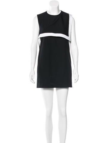 Givenchy Foldover Sheath Dress None