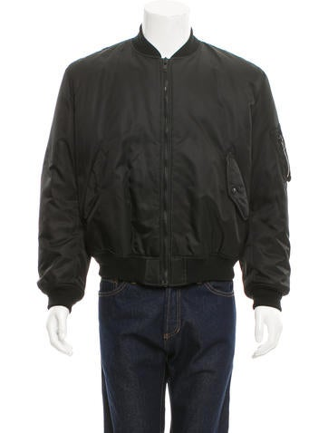 Givenchy Plaid-Lined Bomber Jacket None