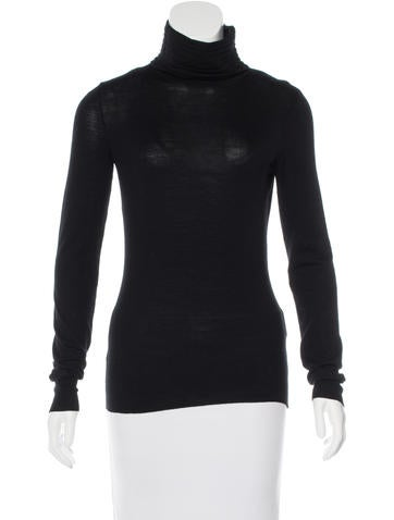 Givenchy Merino Wool Turtleneck Sweater None