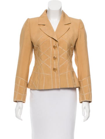 Givenchy Structured Fitted Blazer