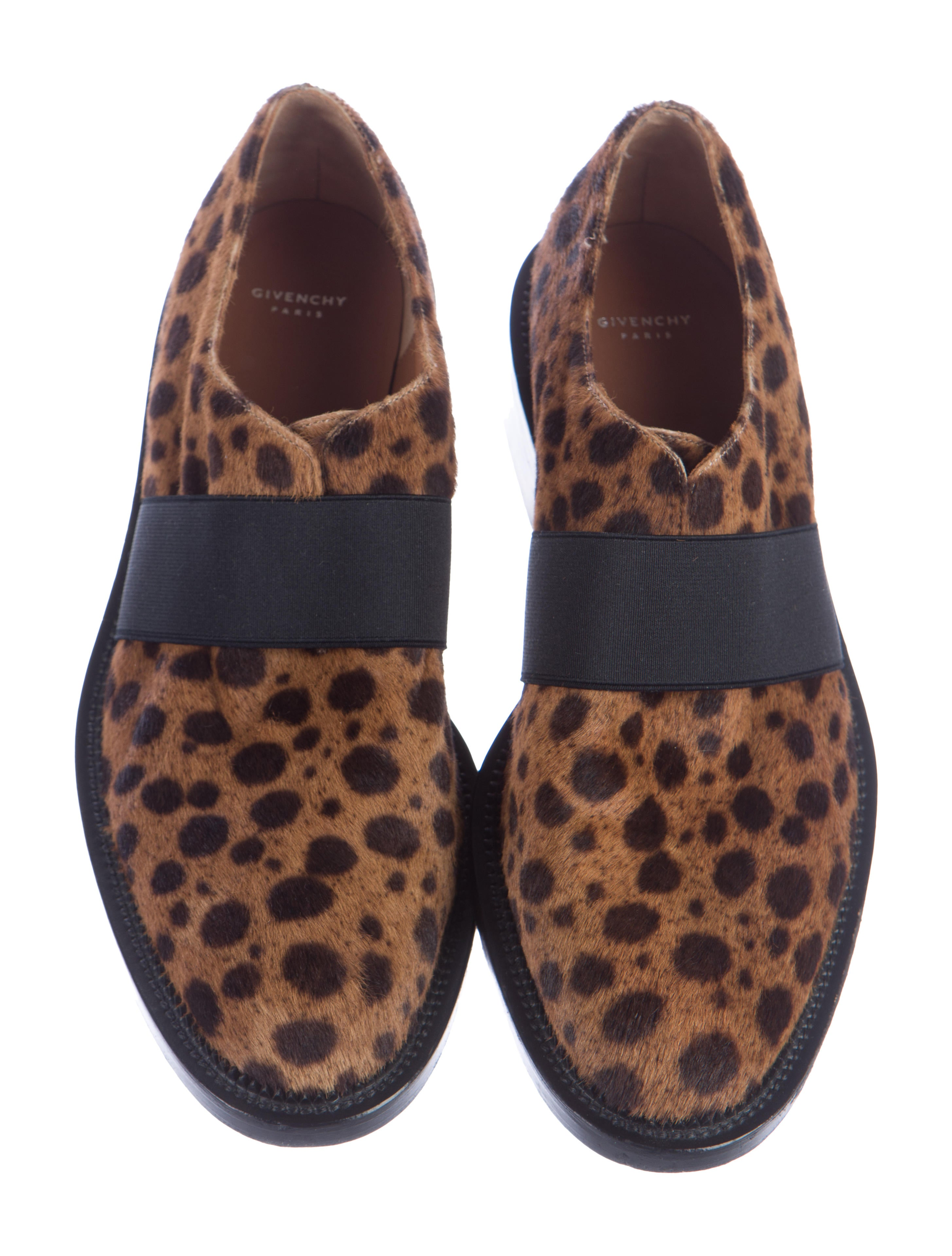 givenchy laceless ponyhair dress shoes shoes giv34443