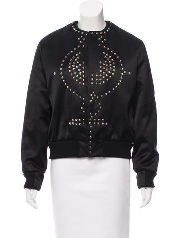 Givenchy Embellished Bomber Jacket None