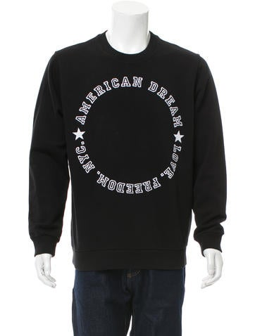 Givenchy Embroidered Crew Neck Sweatshirt None