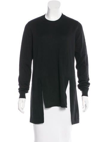 Givenchy Wool & Alpaca-Blend Sweater None