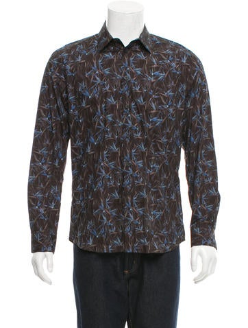 Givenchy Printed Button-Up Shirt None