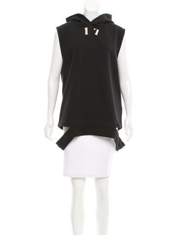Givenchy Embellished Hooded Sweatshirt None