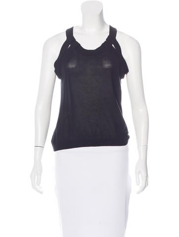Givenchy Sleeveless Knit Top w/ Tags None