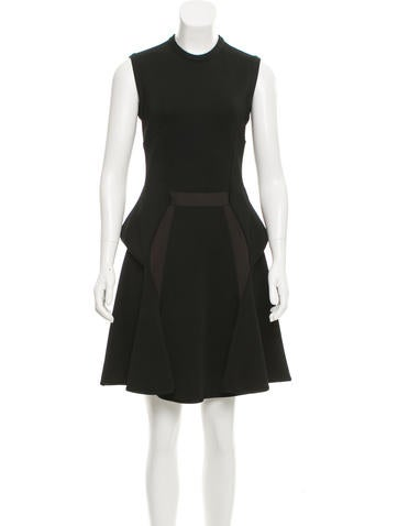 Givenchy Sleeveless Ruffle-Accented Dress None