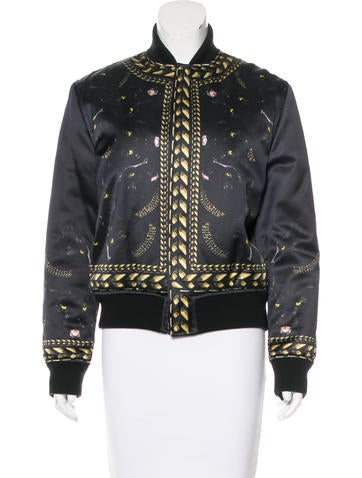 Givenchy Panther Print Bomber Jacket