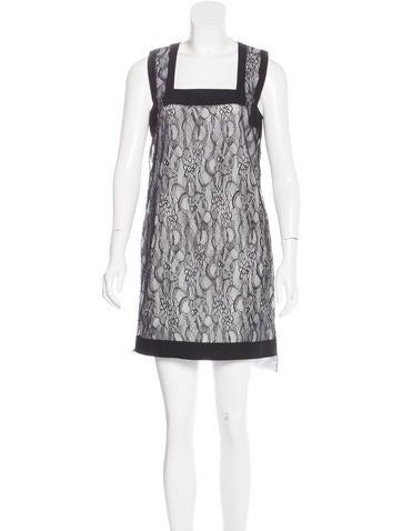 Givenchy Lace Sleeveless Dress None