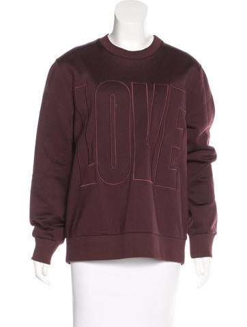Givenchy 2016 Love Sweatshirt None