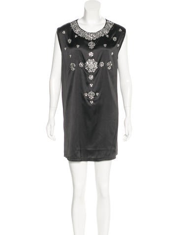 Givenchy Embellished Shift Dress w/ Tags None