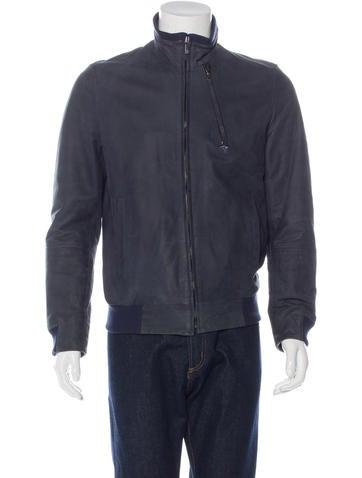 Givenchy Lambskin Bomber Jacket None