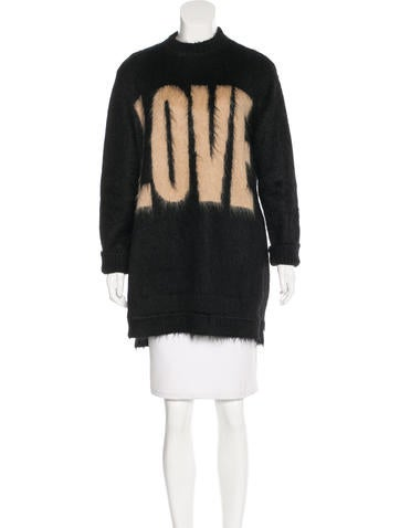 Givenchy Mohair Love Sweater None