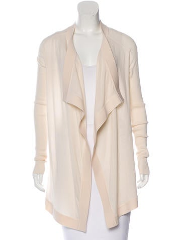Givenchy Draped Wool Cardigan None