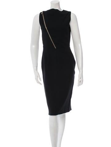 Givenchy Sleeveless Sheath Dress None