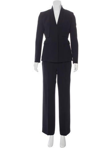 Givenchy three-Piece High-Waisted Pantsuit w/ Tags