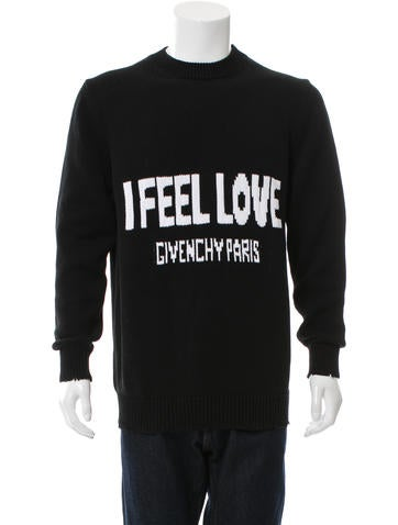 Givenchy Intarsia Crew Neck Sweater w/ Tags None