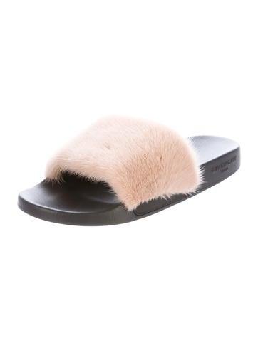 Mink Slide Sandals