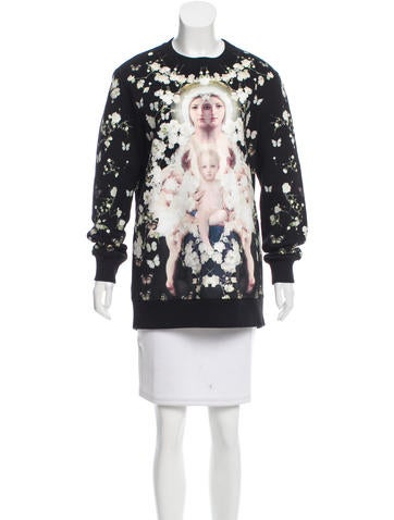 Baby's Breath & Madonna Sweatshirt