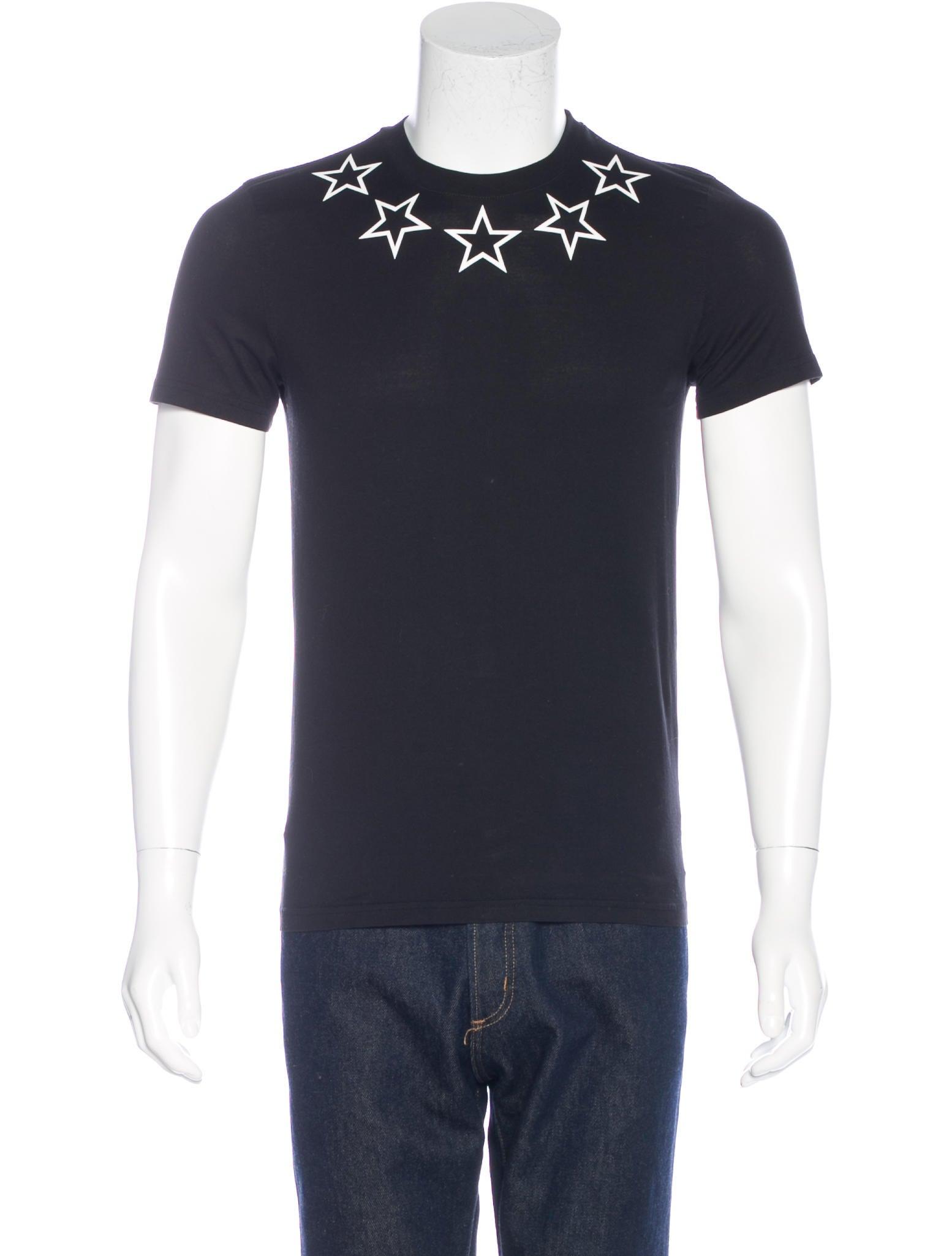 Givenchy 2016 star print t shirt clothing giv36830 for Givenchy star t shirt