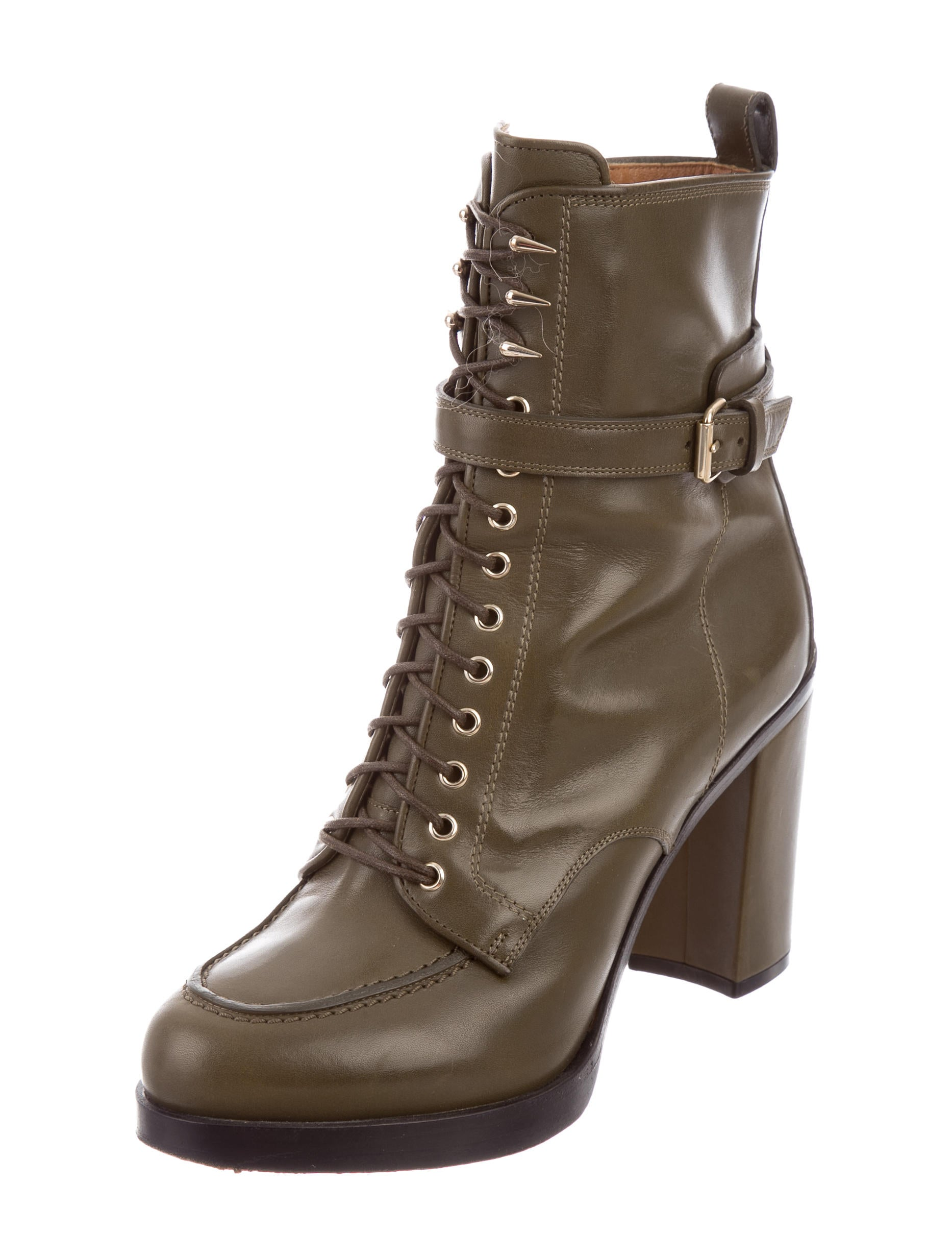 givenchy leather lace up boots shoes giv37022 the