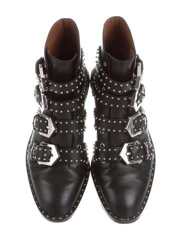 Elegant Studded Ankle Boots