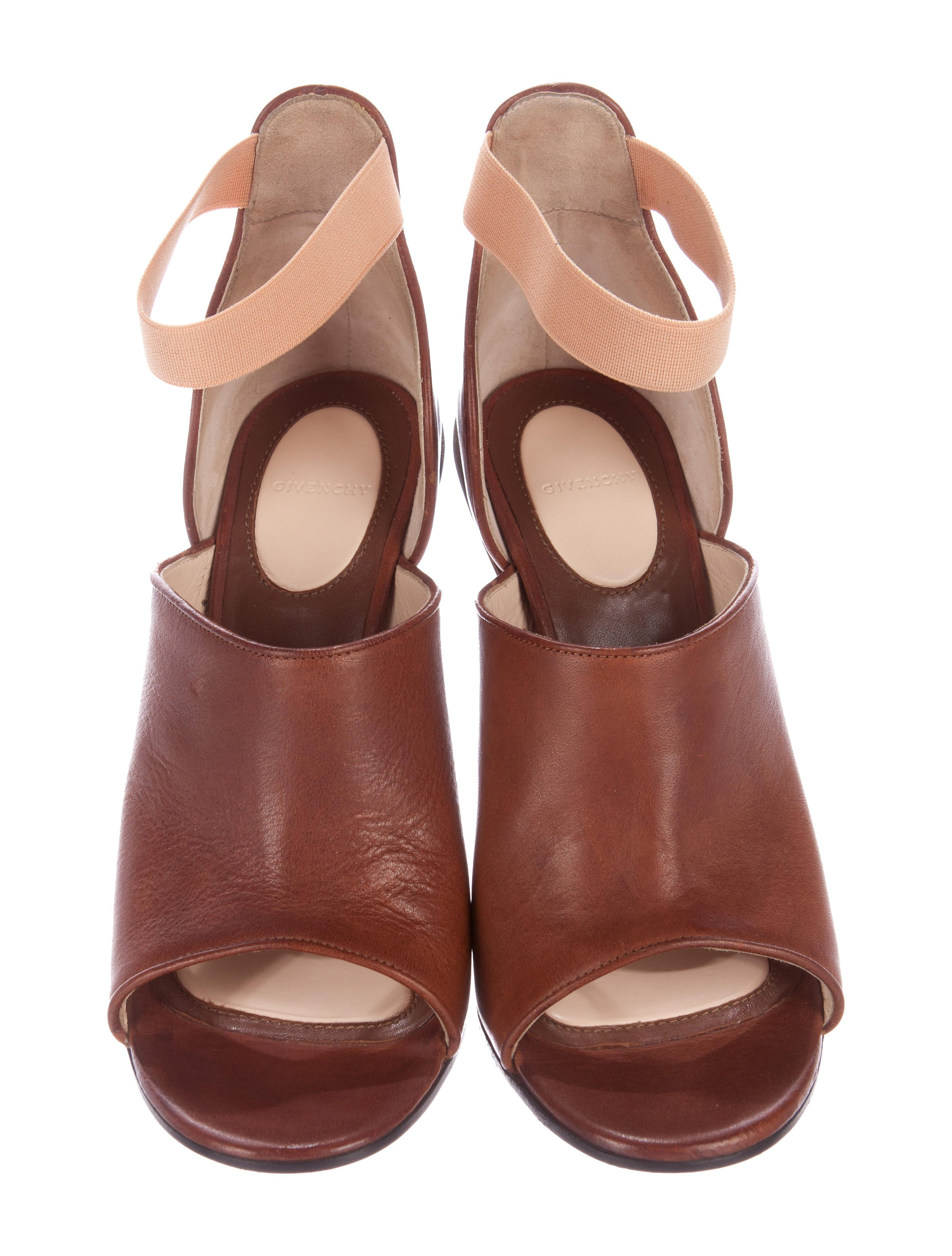 Givenchy Dunka Leather Sandals - Shoes - GIV37295 : The RealReal