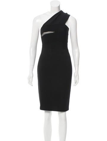 Givenchy One-Shoulder Bodycon Dress None