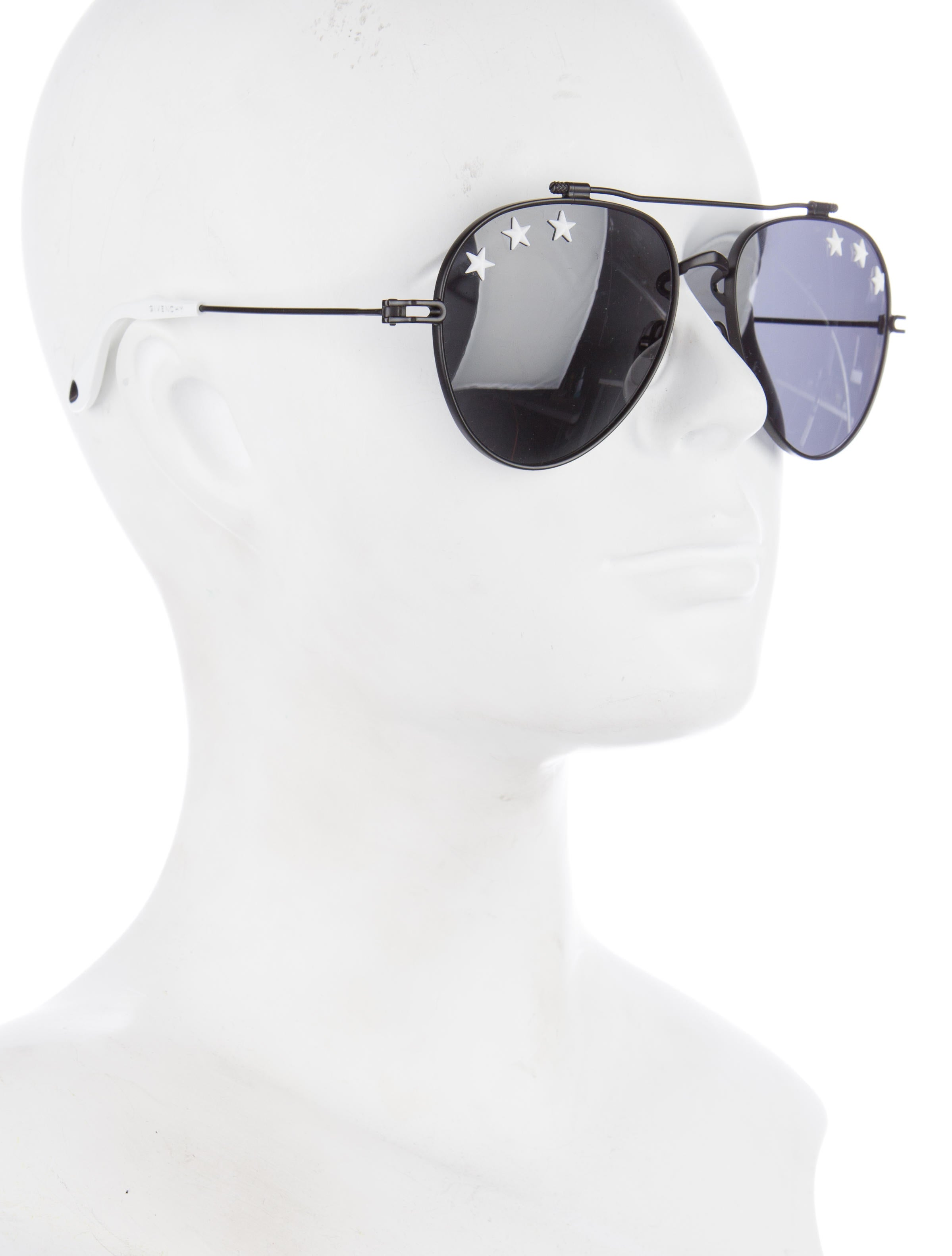 938423da7d Givenchy Star Studded Aviator Sunglasses - Accessories - GIV37510