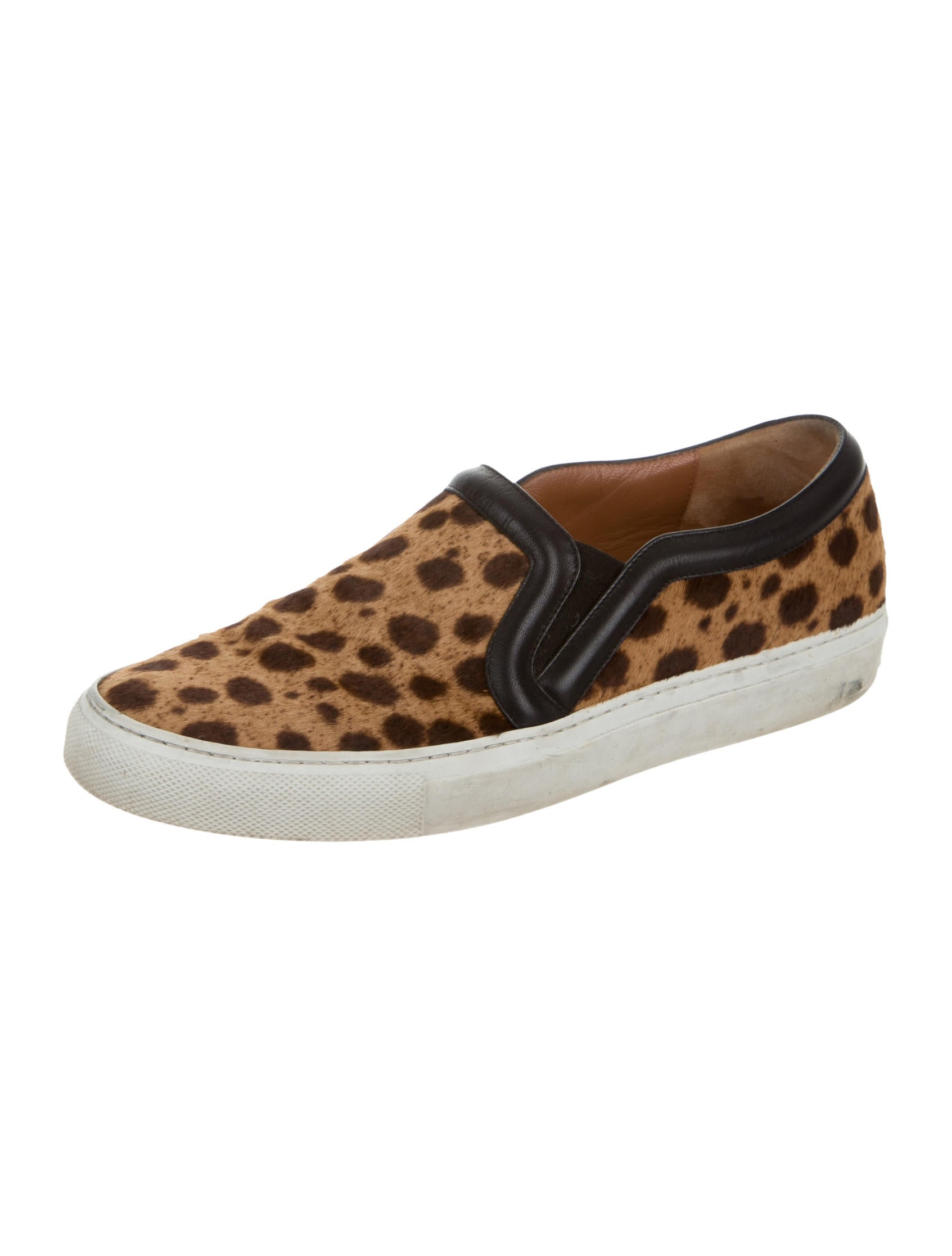 givenchy ponyhair slip on sneakers shoes giv37546