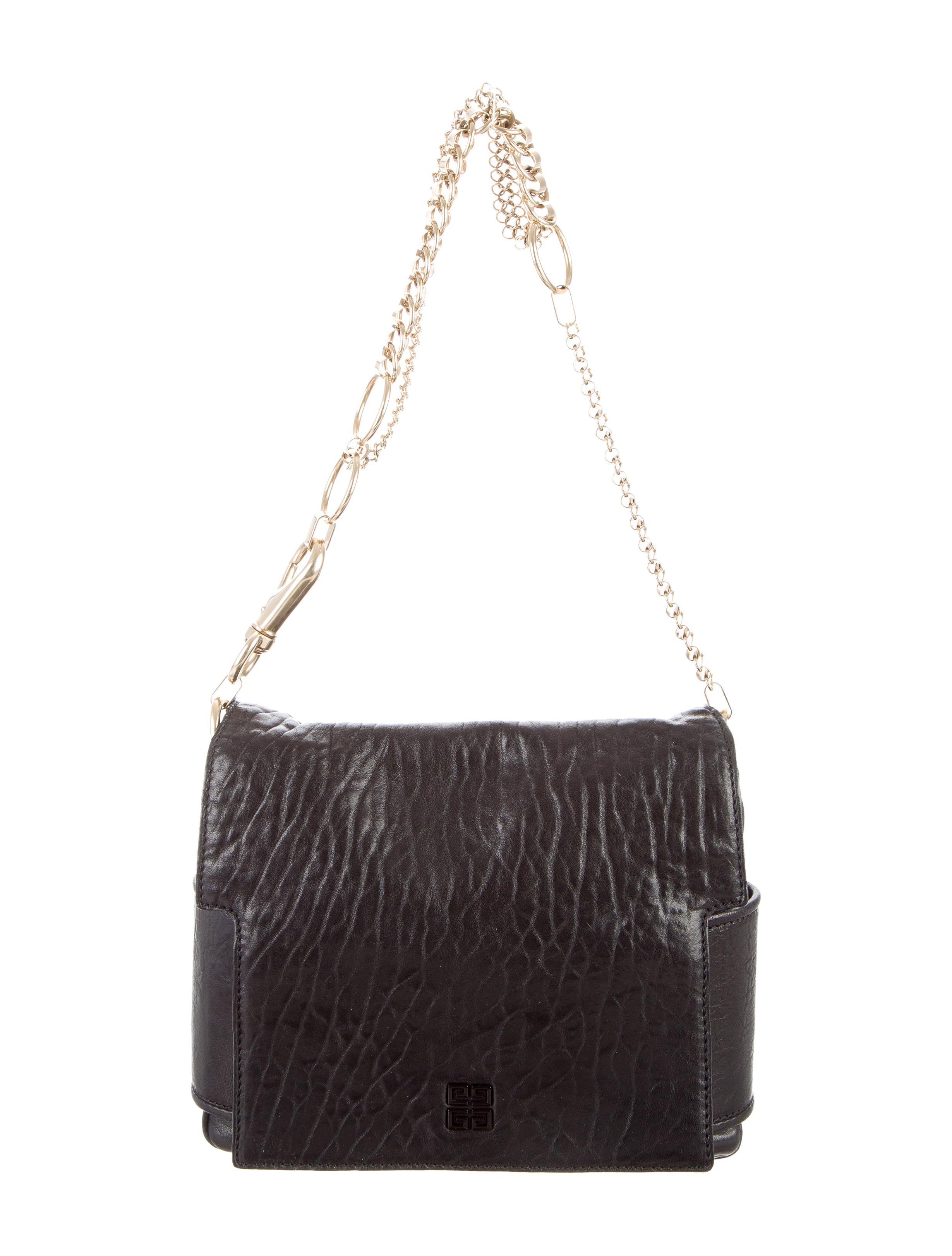 1bf6afccce Givenchy Textured Leather Melancholia Bag - Handbags - GIV37602 ...