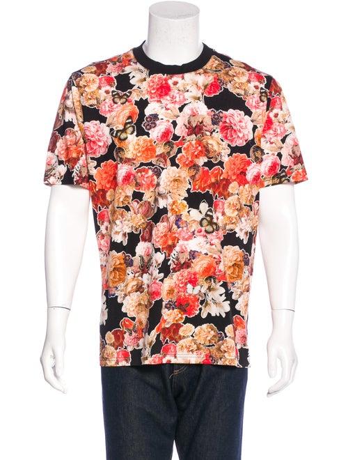 2b6a3d6b34b8b0 Givenchy Floral Butterfly Print T-Shirt - Clothing - GIV37683   The ...