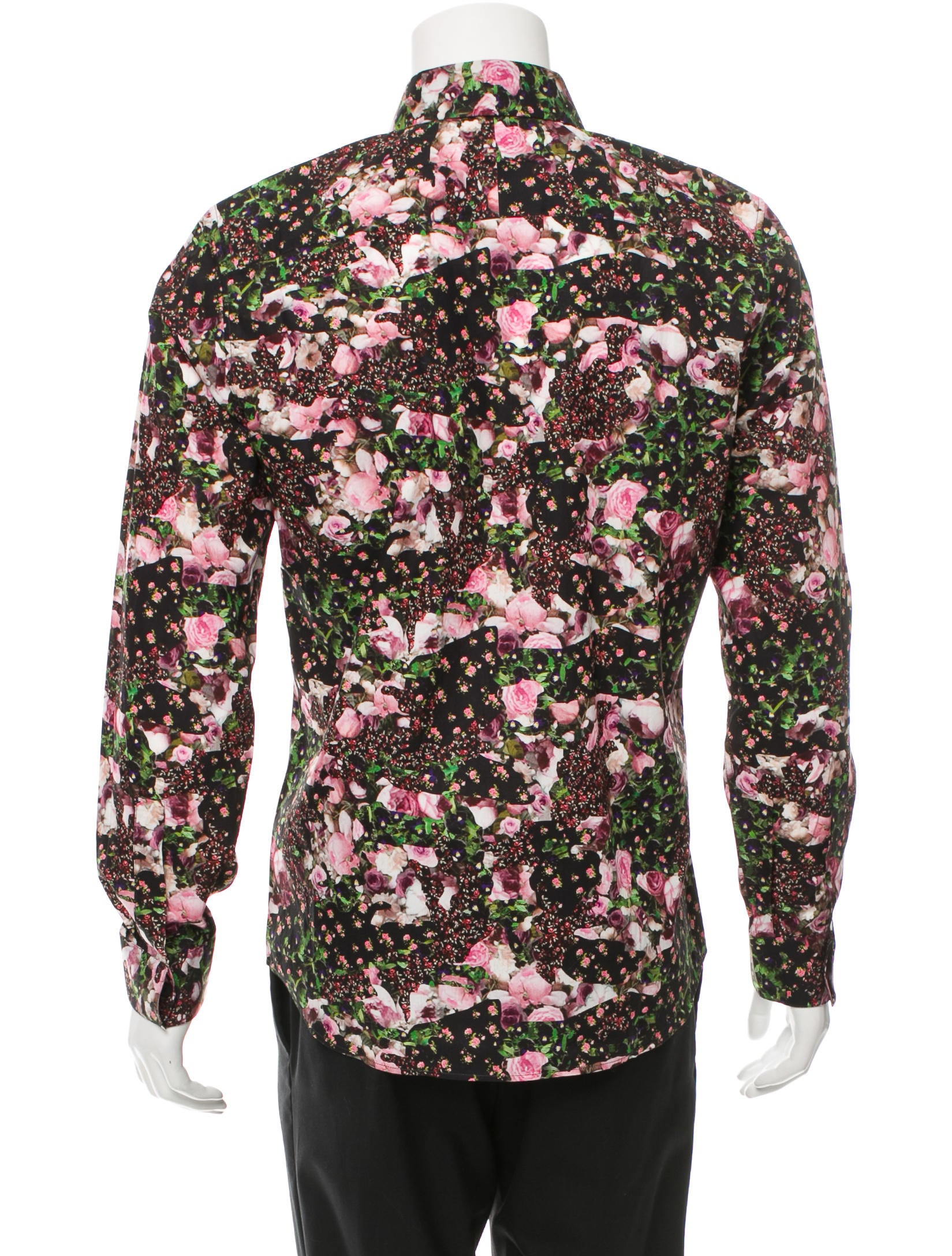 Givenchy floral print button up shirt w tags clothing for Floral print button up shirt