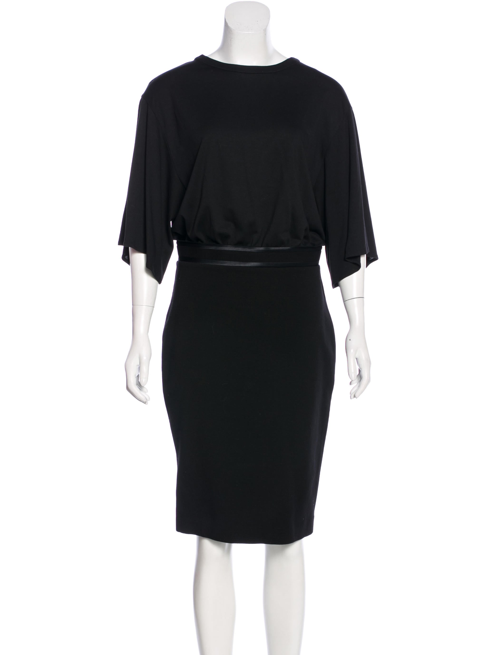 Givenchy Satin Trimmed Midi Dress W Tags Clothing
