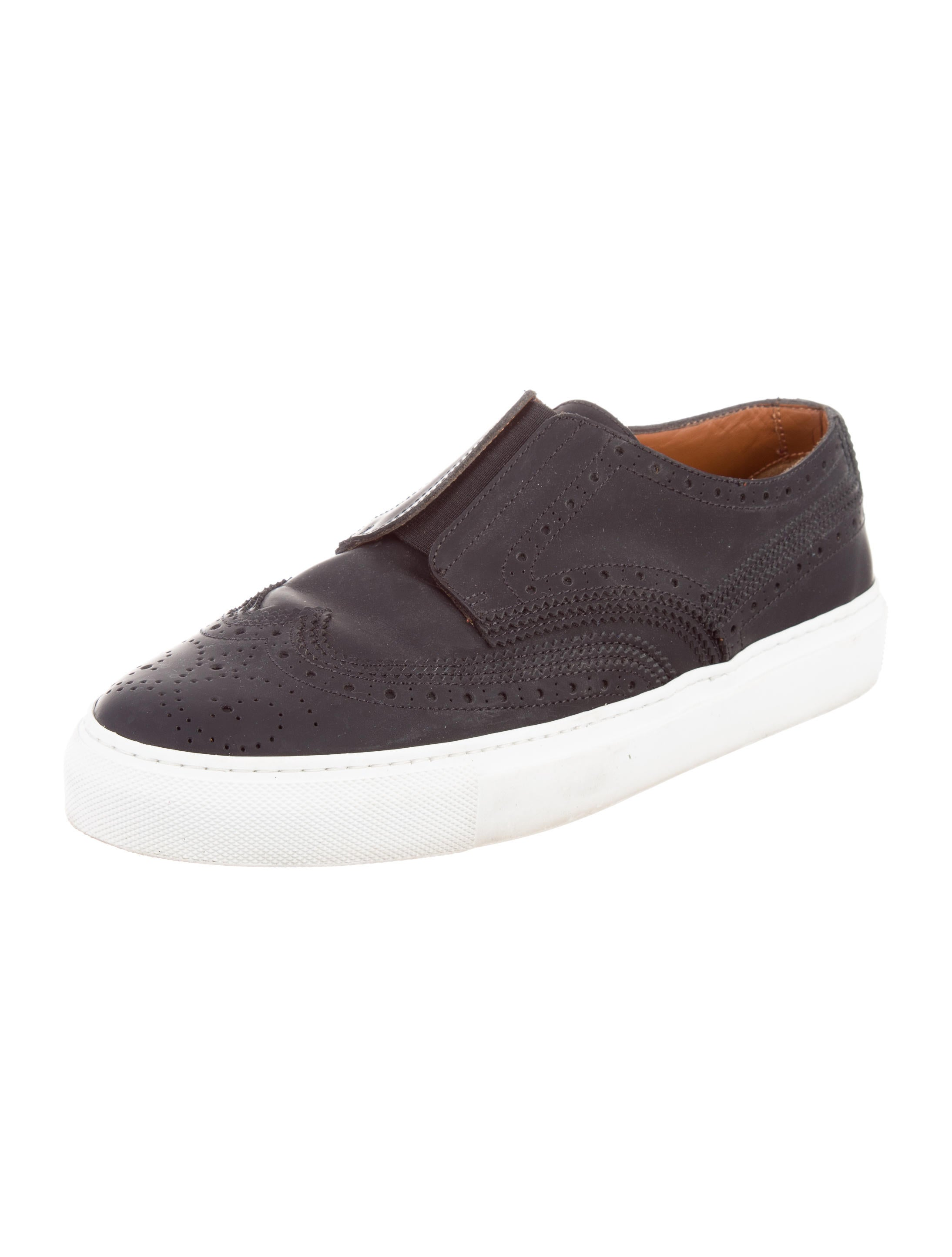 givenchy matte leather slip on sneakers shoes giv38048