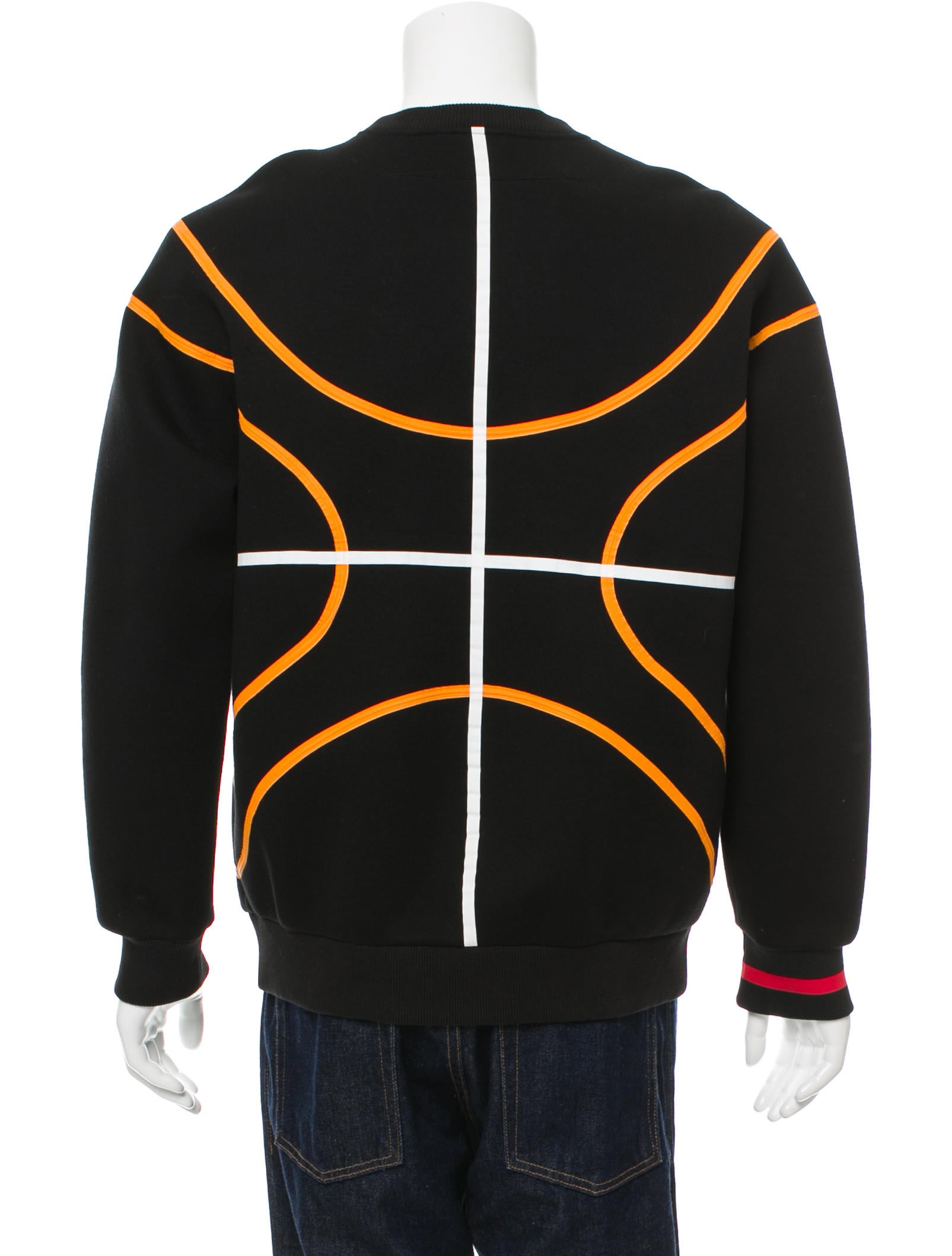 givenchy basketball pullover sweatshirt clothing giv38087 the realreal. Black Bedroom Furniture Sets. Home Design Ideas
