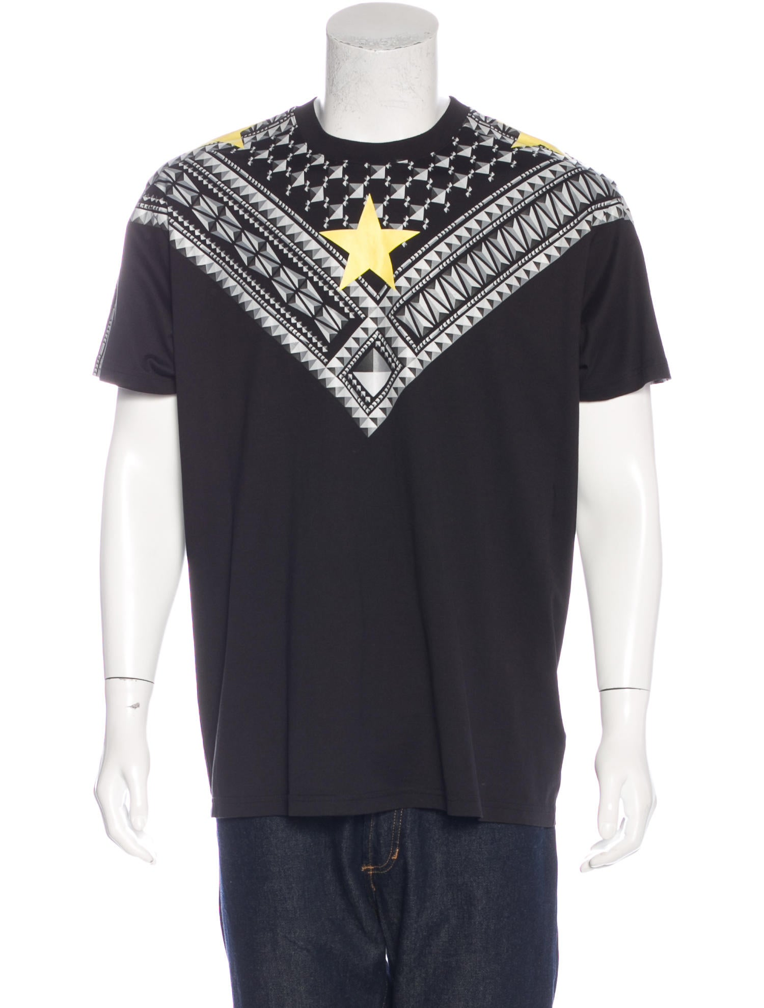 Givenchy star print t shirt w tags clothing giv38436 for Givenchy star t shirt