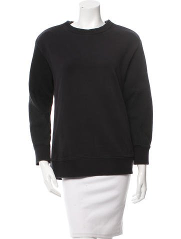 Givenchy Zipper-Accented Pullover Sweatshirt None