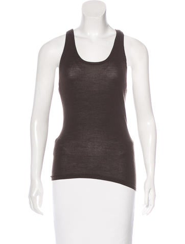 Givenchy Wool Sleeveless Top None