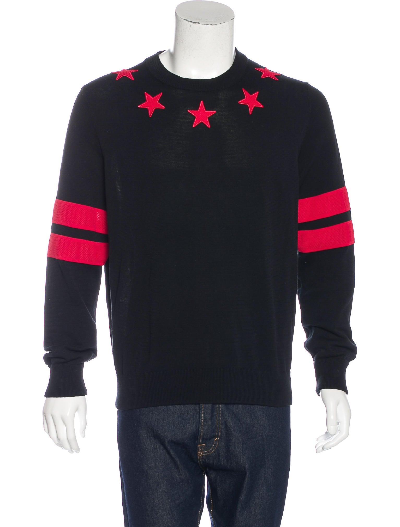 5b44e0867eb3 Givenchy Stars   Stripes Sweater - Clothing - GIV40042
