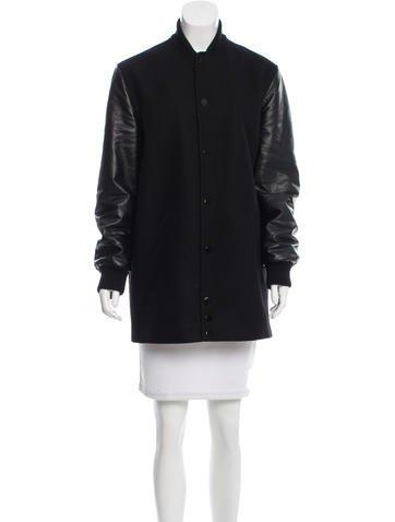 Givenchy Longline Bomber Jacket None