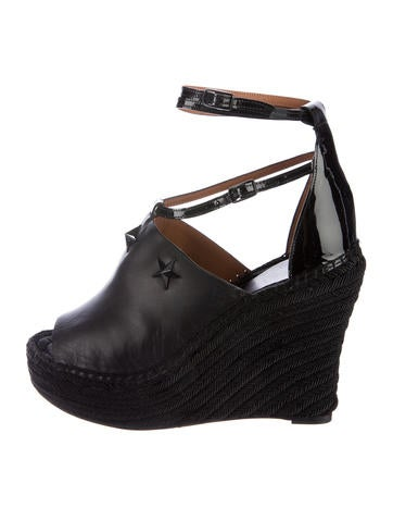 Givenchy Nettunia Espadrille Wedges w/ Tags None